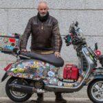 Viaje solidario en Vespa al pueblo más frío del mundo