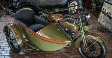 Harley-Davidson JD antiguo: hay un ejemplar y está a la venta