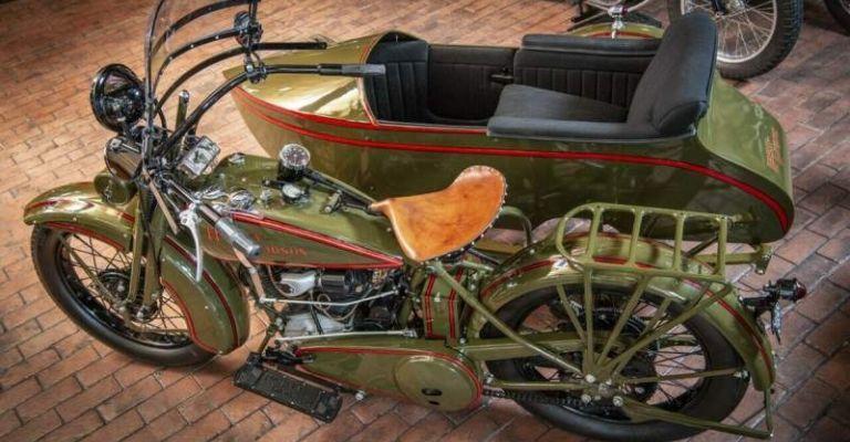 Harley-Davidson JD Sidecar 1928