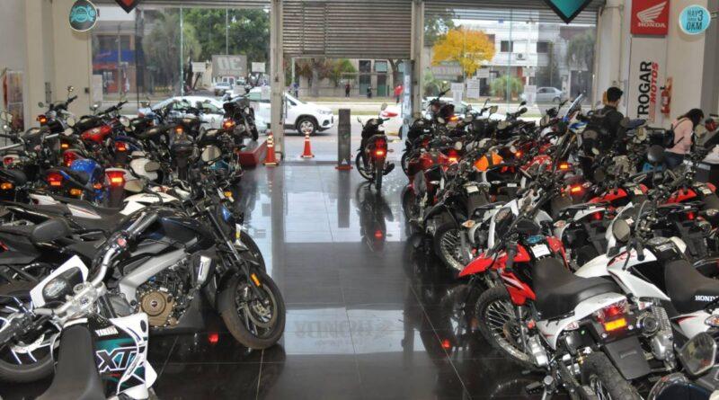 La venta de motos creció en octubre en Argetnina