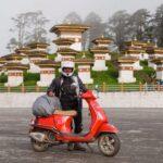 Soumita roy, de Calcuta a Bután en una Vespa