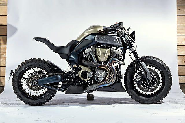 Yamaha MT-01 Blue Falcon