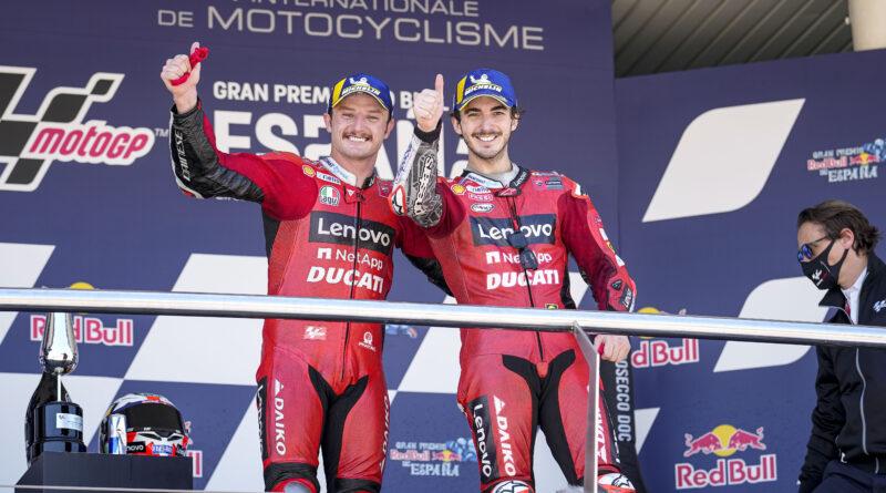 Fiesta de Ducati en Jerez