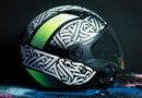 Lanzaron campaña con cascos foto luminiscentes