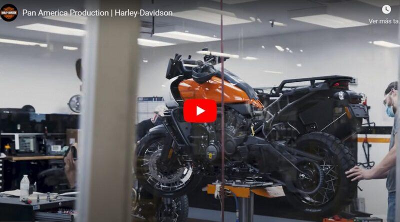 Así produce Harley-Davidson