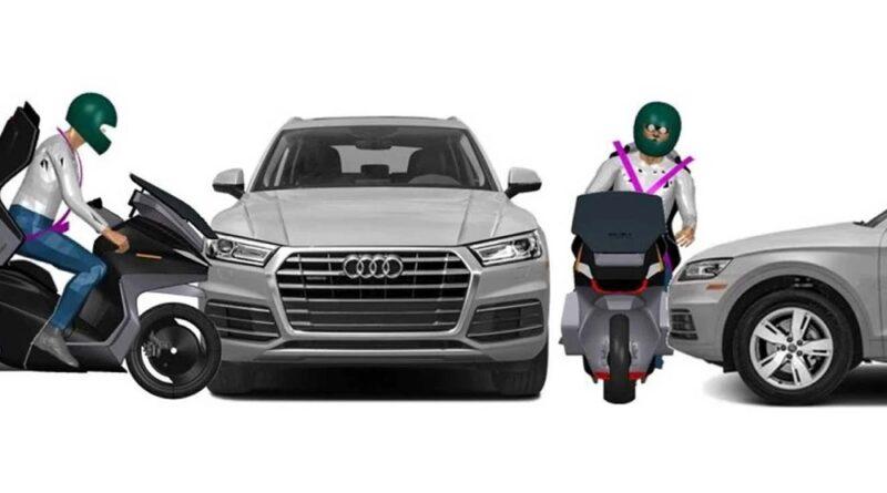 Cinturón de seguridad para moto