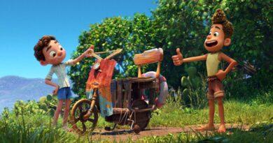 Luca: la Vespa en una película de dibujos animados