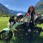 Alicia Sornosa: «Viajar en moto eléctrica es posible»