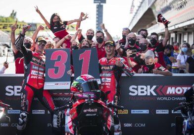 Ducati ganó en MotoGP y SBK el mismo día