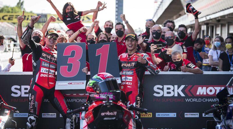 Ducati ganó en MotoGP y SBK