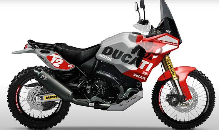 Ducati Scrambler Desert X Mammut