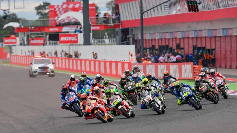 Se cayó el MotoGP